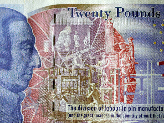 Adam Smith on £20 Pound Note
